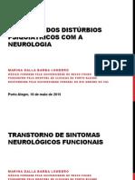 Interface Dos Distúrbios Psiquiátricos Com a Neurologia, Marina Londero