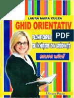 Ghid Orientativ (Planificarea Activităților)