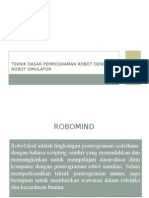 8.Teknik Dasar Pemrograman Robot Dengan Robot Simulator