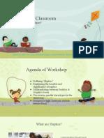 haptics in the classroom ppt