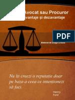 avocat sau procuror