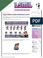 Pixels Mil_ Crear y Animar Un Sprite (Tutorial Paso a Paso)