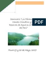 Los Páramos, el Cambio Climático y las Reservas de Agua en el Futuro del Perú. Informe del seminario dirigido a periodistas.pdf