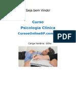 Curso de Psicologia Clinica