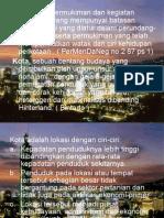Pola Keruangan Kota