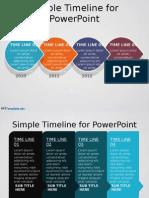 0021 Timeline Ppt Template