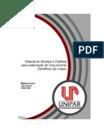 Manual de Normas Da UNIPAR 2013