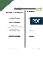 Métricas de Desarrollo de Software IHC