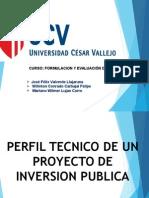 Trabajo de Perfil Tecnico Laredo -Expoacion