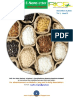 30th November,2015 Daily Global,Regional & Local Rice E-Newsletter by Riceplus Magazine
