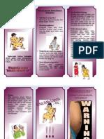Leaflet Tanda Bahaya Kehamilan Poli Kebidanan