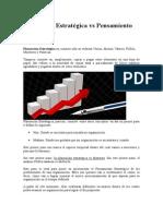 FICSCP 2015 2 LEER1 Planeación Estratégica vs Pensamiento Estratégico