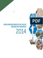 Indicadores Básicos de Salud Región Tarapacá CHILE 2015