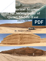 A Historical Account of the Stratigraphy of Qatar, Middle-East (1816 to 2015)