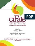 Caderno Cifale Eixo-Língua e Ensino Metodologias e Tecnologias