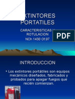 EXTINTORES PORTATILES