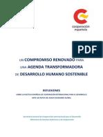 Reflexiones Para El Futuro de La Cooperación Española (3)