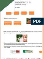 Uso de Antihistamínicos en Pacientes Geriátricos Expo Rosario