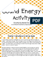 Activity Pack Sound Energy Activity