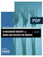 2 US Restaurant Industry Trends and Outlooks for Growth(1)