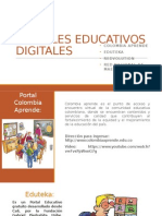 Portales Educativos Digitales.