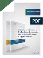 151201 Droit Des Vétérans Divulgation Motifs Décisions