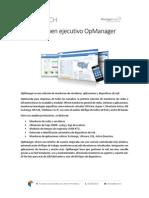 Descriptivo Técnico OpManager