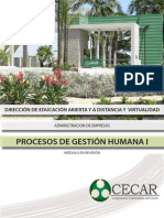 Procesos de Gestion Humana 1