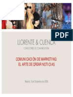 Comunicacion de Marketing