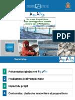 Projet Aquaculture Alhoceima