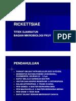 Rickettsiae