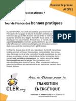 Climat et transition énergétique - Tour de France des bonnes pratiques