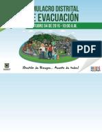 Cartilla Simulacro Distrital 2015