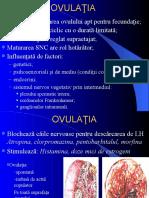 Ovulatia & Formarea Corpului Galben