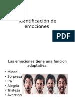 Identificación de Emociones