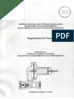 Reguladores de Presión ENAP (FFF)