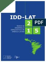 IDD-LAT Indicadores Democraticos Lat 2015