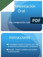 la presentacion oral cultural comparison