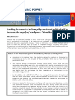 Facts Sheet - Wind Power - FINAL May 2012