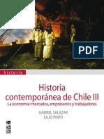 Gabriel Salazar Historia Contemporanea de Chile III