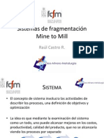 4. Sistemas de fragmentación mine to mill
