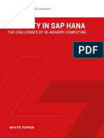 White Paper - Security in SAP HANA