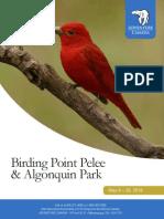 Birding Point Pelee & Algonquin Park 2016