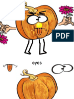 Mr Pumkin Face! Body Parts