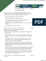 Questões de Concurso -Código de Trânsito Brasileiro