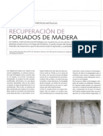 Recuperación Estructuras de madera