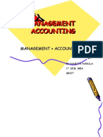 Basics of Management Accounting