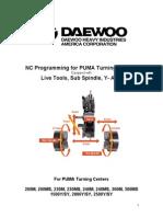 Puma M MS Y SY Programming Manual