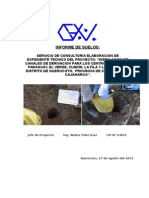 Informe de Suelos Del Proyecto Qda Honda