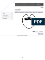 Walkman Sony NWZW273 Help Guide.pdf